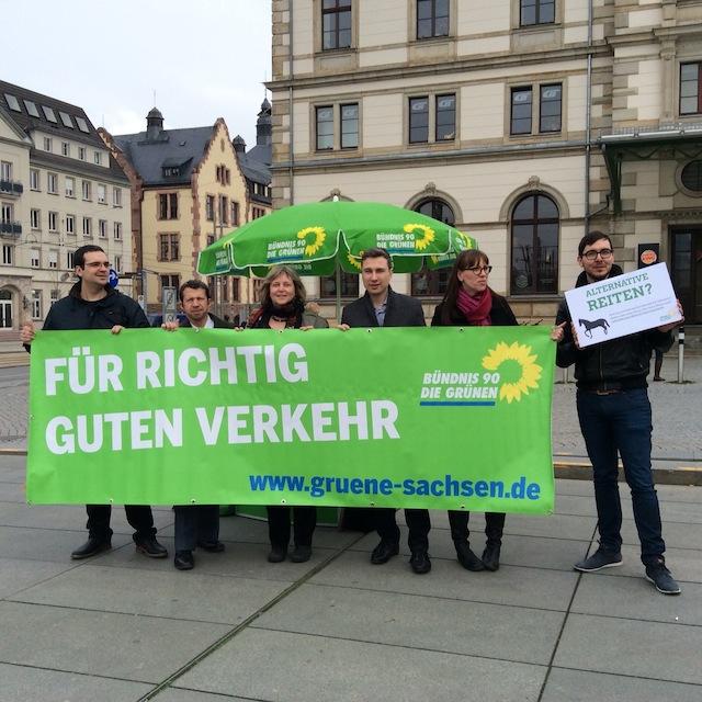 Start Bahnpetition Chemnitz