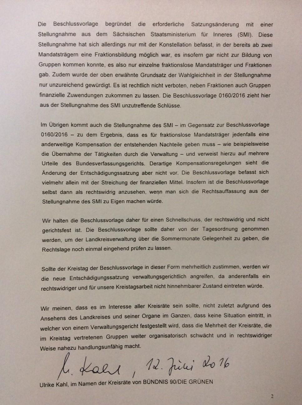 Antrag zur Tagesordnung Seite 2