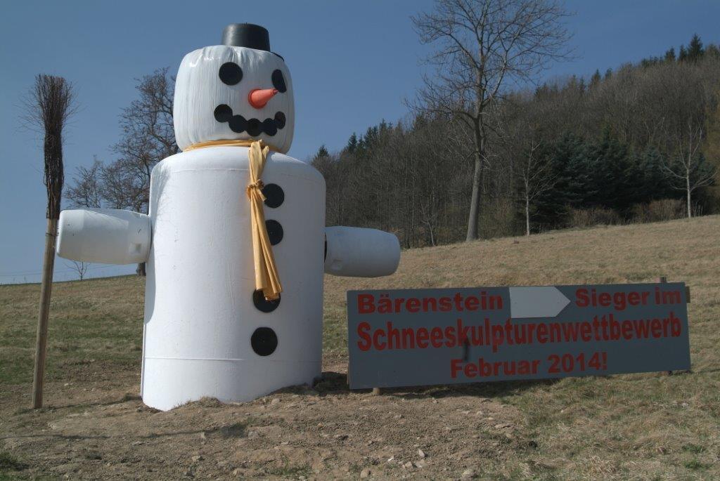 Schneeskulpturenwettbewerb