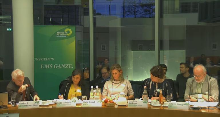 """Teilnahme am Fachgespräch """"Klimaschutz und Nachhaltigkeit verwurzeln – Grüne Strategie zur Unterstützung von Kommunen"""""""